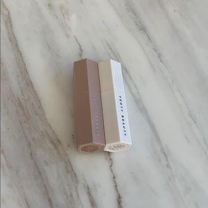 Fenty Beauty Shimmer Stick & Highlighter Brush Set
